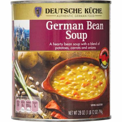 Opinion: Deutsche Kuche – German Bean Soup (Canned)